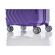 """Z-Lite DLX 20"""" Spinner in the color Moonrise Purple."""