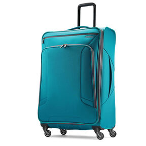 "American Tourister 4 Kix 28"" Spinner in the color Teal/Grey."