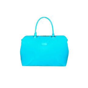 Lipault Lady Plume Weekend Bag M in the color Riviera Blue.
