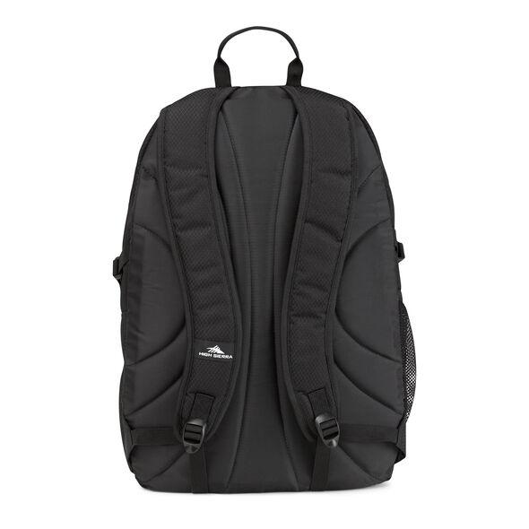 High Sierra Ryler Backpack in the color Black.