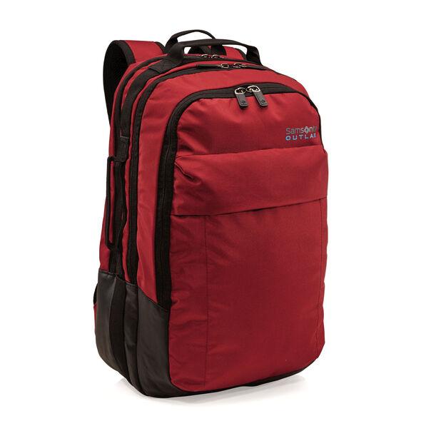 Samsonite Outlab Switchback Backpack in the color Brick Red.