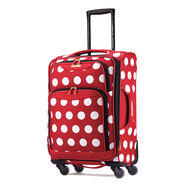 "American Tourister Disney Minnie Mouse 21"" Spinner in the color Minnie Mouse Polka Dot."