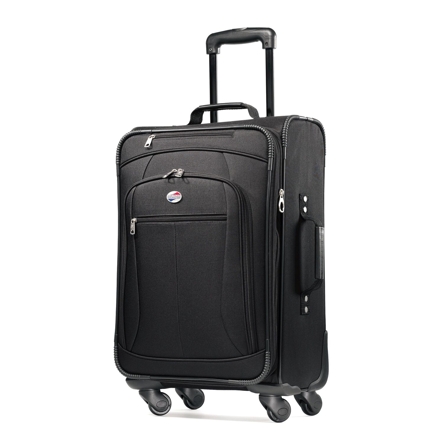 american tourister pop 3 piece spinner luggage set. Black Bedroom Furniture Sets. Home Design Ideas