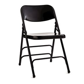 Samsonite Steel Folding Chair (Case/4) in the color Black.