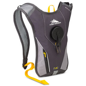 High Sierra Classic 2 Series Wave 50 Hydration Pack in the color Mercury/Ash/Yellow.