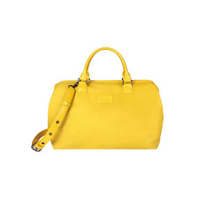 Lipault Lady Plume Bowling Bag (M) in the color Saffron Yellow.