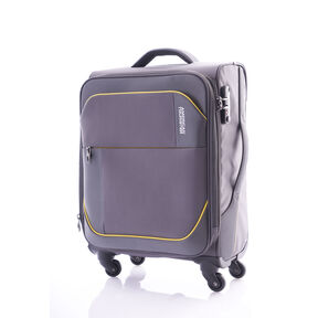 "American Tourister Warren 24"" Spinner in the color Grey Yellow."