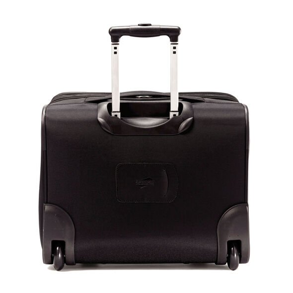 American Tourister iLite Max Wheeled Boarding Bag in the color Black.