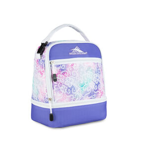High Sierra Lunch Packs Stacked Compartment in the color Delicate Lace/Lavender/White.