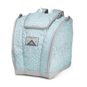 High Sierra Trapezoid Boot Bag in the color Mint Leopard.