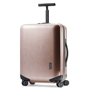 "Samsonite Inova 20"" Spinner in the color Rose Gold."