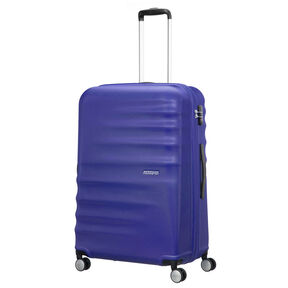 "American Tourister Wavebreaker 28"" Spinner in the color Nautical Blue."