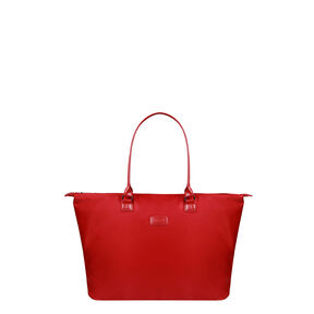 Lipault Lady Plume Shopping Tote L in the color Ruby.