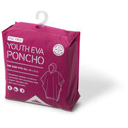 High Sierra Youth EVA Poncho in the color Razzmatazz.