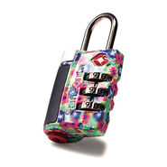 Samsonite Travel Sentry 3-Dial Combo Lock in the color Floral.