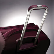"Samsonite Mightlight 2 21"" Spinner in the color Grape Wine."
