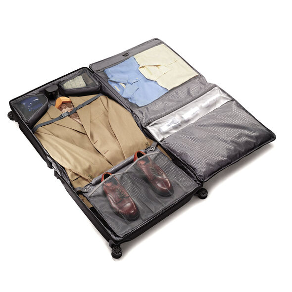 Samsonite Silhouette XV Duet Voyage Garment Bag in the color Black.