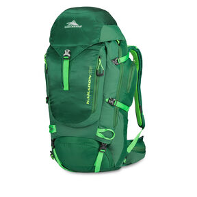 High Sierra Karadon 65 L S-M in the color Lime/ Kelly Green.