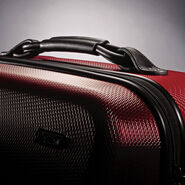 Hartmann Vigor 2 Medium Journey Spinner in the color Garnet Red.