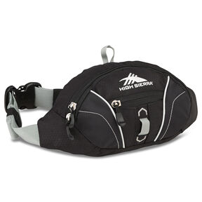 High Sierra Classic 2 Series Passport Waistpack in the color Black/Silver.