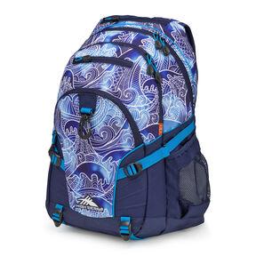 High Sierra Loop Backpack in the color High Tide/True Navy/Pool.