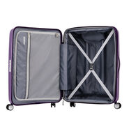 American Tourister Curio Spinner Carry-On in the color Purple.