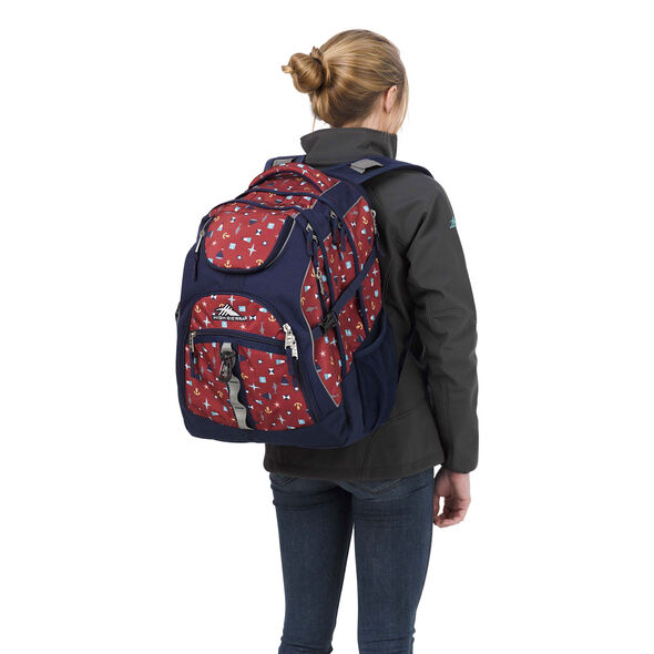 High Sierra Access Backpack in the color Sail Away/True Navy.