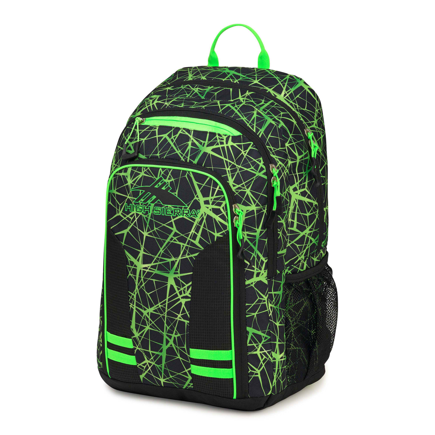 Web colors lime - High Sierra Blaise Backpack In The Color Digital Web Black Lime