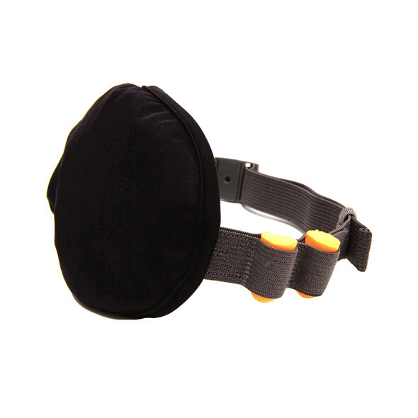 Microbead Eye Mask in the color Black.