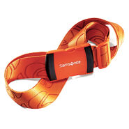Samsonite Luggage Strap in the color Juicy Orange.