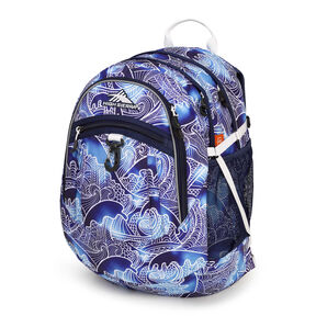 High Sierra Fat Boy Backpack in the color High Tide/True Navy/White.