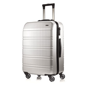 Hartmann Vigor 2 Medium Journey Spinner in the color Glacial Silver.