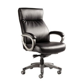 Samsonite Orleans Bonded Leather Chair in the color Black.