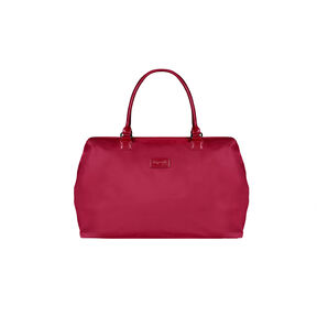 Lipault Lady Plume Weekend Bag M in the color Amaranth Red.