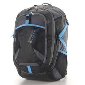 Samsonite Outlab Impact Backpack in the color Black/Grey.