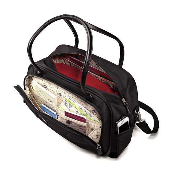 Samsonite Hyperspace XLT Boarding Bag in the color Black.