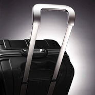 "Samsonite Outline Sphere 2 Hardside 21"" Spinner in the color Black."