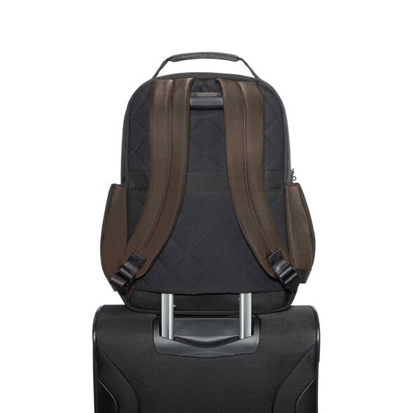 "Samsonite Openroad 14.1"" Laptop Backpack in the color Chestnut Brown."