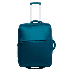 Lipault 0% Pliable Upright 75/28 in the color Duck Blue.