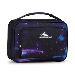 High Sierra Lunch Packs Single Compartment in the color Cosmos/Midnight Blue.