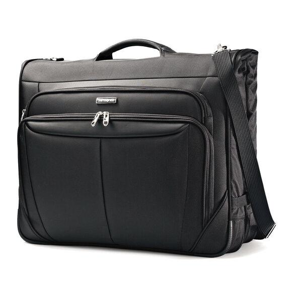 Samsonite Silhouette Sphere UltraValet Garment Bag in the color Full Black.