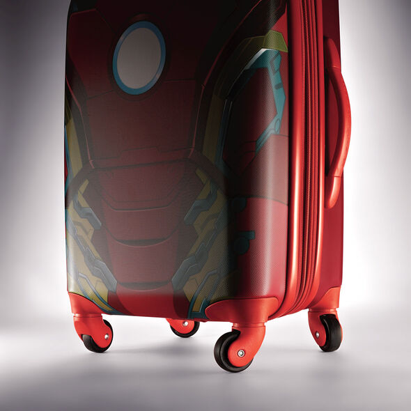 "American Tourister Marvel All Ages 28"" Spinner in the color Iron Man."