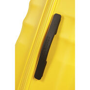 "American Tourister Wavebreaker 28"" Spinner in the color Sunny Yellow."