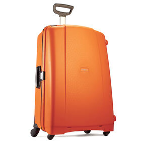 "Samsonite F'Lite GT 27"" Spinner in the color Bright Orange."