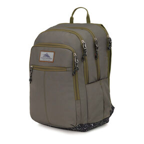High Sierra Keno Backpack in the color Moss/Speckle.