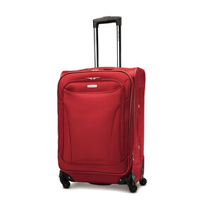 "Samsonite Bartlett 24"" Spinner in the color Red."