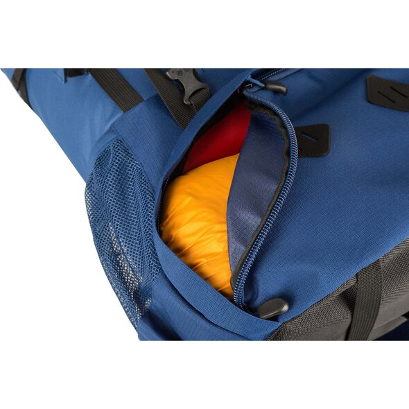 High Sierra Tokopah 45L Pack in the color Raven/Black/Zest.