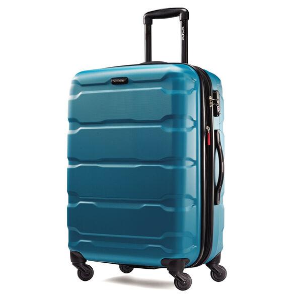 "Samsonite Omni PC 24"" Spinner in the color Carribean Blue."
