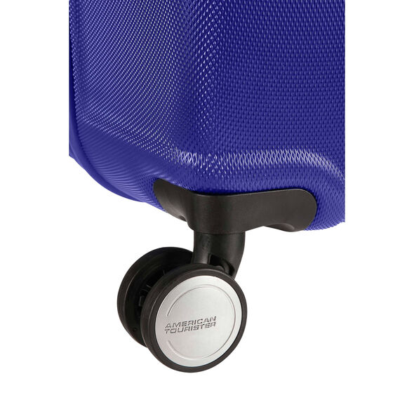 """American Tourister Wavebreaker 20"""" Spinner in the color Nautical Blue."""