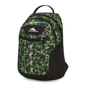 High Sierra Opie Backpack in the color Digital Web/Black.